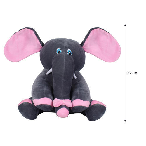Grey Elephant Stuffed Soft Plush Toy 35 Cm At Rs 140 Piece Soft