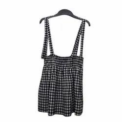 Girl Kids Cotton Dungaree Dress