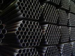 MS ERW Black Steel Pipes, Size: 1/2 inch