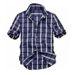 Checked Casual Cotton Shirt