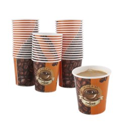 Printed Paper Coffee Cup 210ml