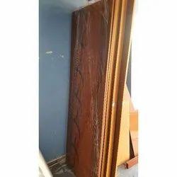 Single Door Polished Wooden Modular Door
