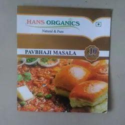 Hans Organics 18 Gram Pavbhaji Masala, Dry Place