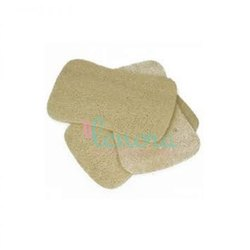 ORGANIC Rectangle Flat Compressed Natural Loofah, For Personal