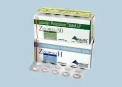 Losartan Potassium 50mg   Hydrochlorothiazide 12.5mg