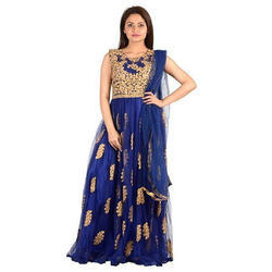 Multicolor Bridal Wear Ladies Party Wear Designer Suit