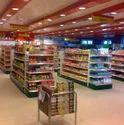 Metal Super Market Rack