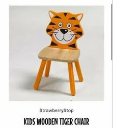 Strawberry Stop Kids Wooden Chair