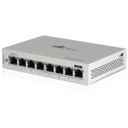 Ubiquiti US-8 UniFi Switch 8 (8-Port Fully Managed Gigabit Switch)