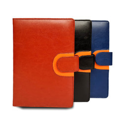 Moda Orange * Black B5 Notebook