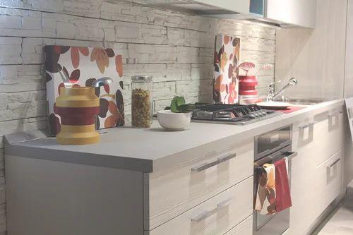 Italian Acrylic Modular Kitchen