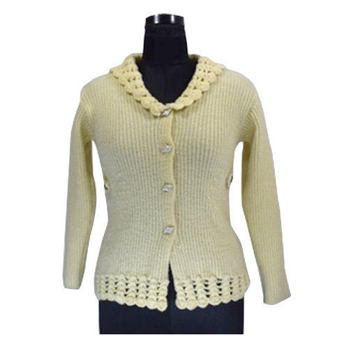 47ad6b8569bc27 Full Sleeve Ladies Designer Cardigan