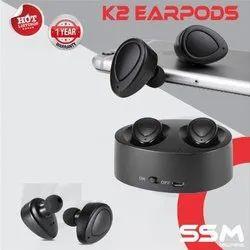 SSM Black K2 Earpods
