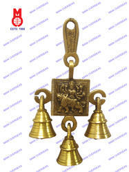 Belt with Bell Durga Design Hanging