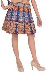 9f825ff28e6 Multicolor Indian Mandala Short Skirt