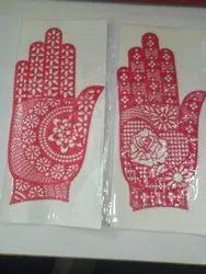 Henna Rubber Stencils