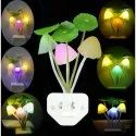 Mushroom LED Night Lamp Wall Light