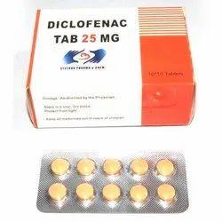 Diclofenac 25 mg Tablets