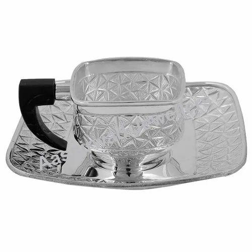 Pure Silver Tea Cup , FTP-01
