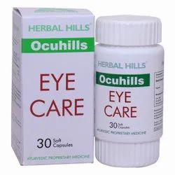 Ayurvedic Medicine For Eyesight Improvement - Ocuhills 30 Soft Gel Capsule