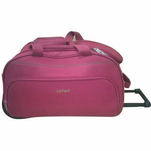 10b71981fc61 Safari Duffle Trolley Bag