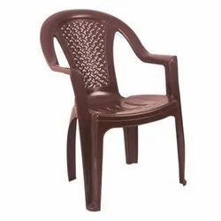 Brown Plastic Chair, for Home