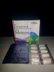 Metrom G1 (Glimepiride And Metformin Hydrochloride Tablets)