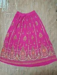 Ladies hand printed Skirt