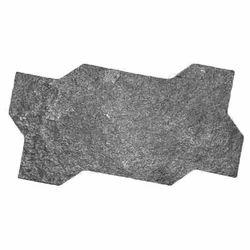 Zigzag Rock 2 Blocks Rubber Mould