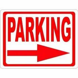 Reflective Parking Signage