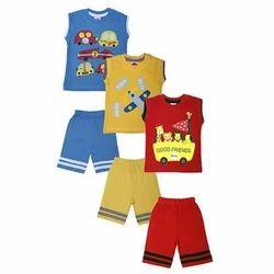 100% Cotton Kids Dress Baby Wear Gift Set