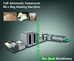 Automatic Rice Bag Making Machine