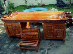 Ayurvedic Massage Table With Cabinet