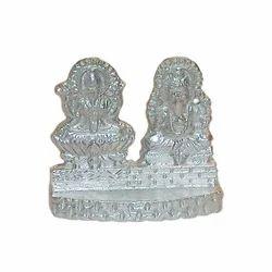 Parad (Mercury) Laxmi Ganesha Idol