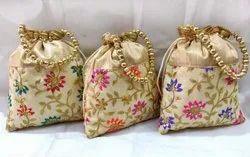 Gota Embroidery  Potli Bag