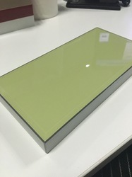 Green Scratch Proof High Gloss Acrylic Laminated Board