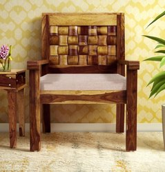 School Antique Solid Wood Diamond Design Chair