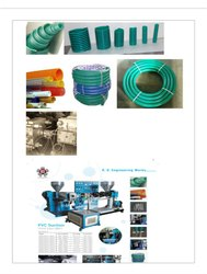 PVC Suction Pipe Making Extrusion Machine
