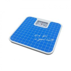 Personal Weighing Scale with Shock Absorbing Mechanism