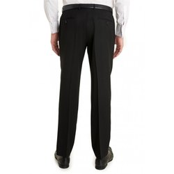 Cotton Regular Fit Men Office Formal Pants, Handwash