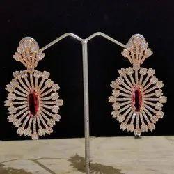 American Diamond Designer Earrings