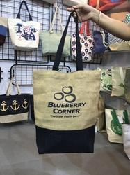 Jute Bag for Company S Promotion