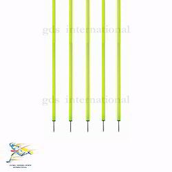 Agility Slalom Pole - Basic Spiked