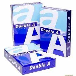 Plain a Double A A4 Paper, GSM: 70, 500 Sheets Per Ream