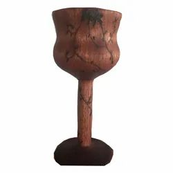 Wooden Wine Glass
