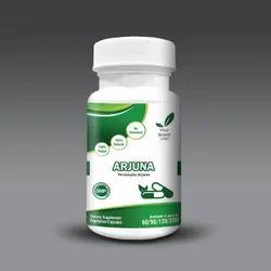 Dietary Supplement Unisex Arjuna Capsules, For Health Supplement, Grade Standard: Food Grade