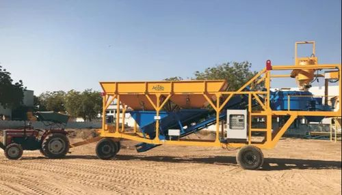 Fully Automatic Standard Product Concrete Batching Plant, Model Name/Number: ATP25E