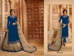 Georgette Ethnic Wear Ramzan Special Designer Indo Western