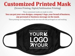 3 Ply Face Customized Printed Mask For Brand Promotion