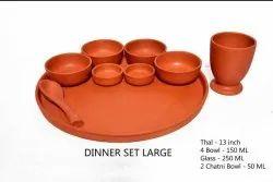 Clay Organic Dinner Set.